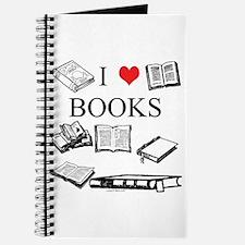 I (heart) Books Journal