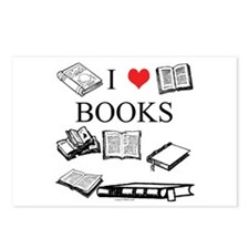I (heart) Books Postcards (Package of 8)