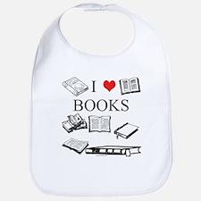 I (heart) Books Bib