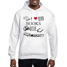 I (heart) Books Hoodie