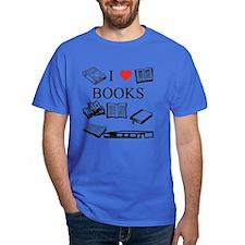 I (heart) Books T-Shirt