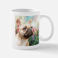 French Bulldog Painting Mugs