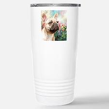 French Bulldog Painting Travel Mug