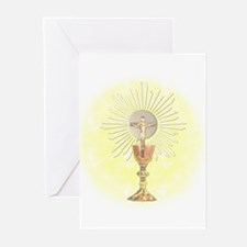 Eucharist Blank Cards (Pk of 10) Greeting Cards