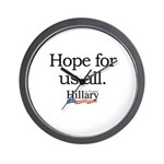 Hope for us all: Hillary 2008 Wall Clock