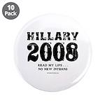 Hillary 2008: No new interns 3.5