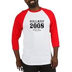Hillary 2008: No new interns Baseball Jersey