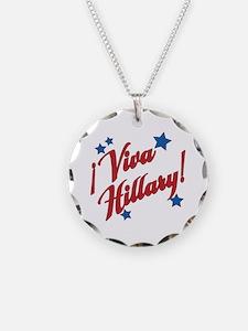 Viva Hillary! Necklace