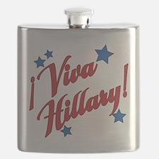 Viva Hillary! Flask