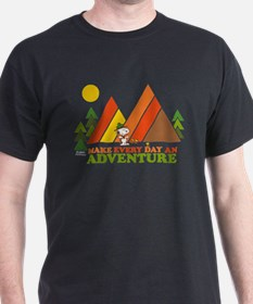 Snoopy-Make Every Day An Adventure T-Shirt