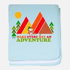 Snoopy-Make Every Day An Adventure baby blanket