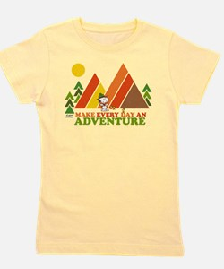 Snoopy-Make Every Day An Adventure Girl's Tee