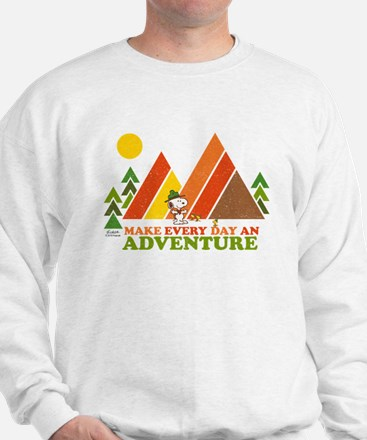 Snoopy-Make Every Day An Adventure Sweater