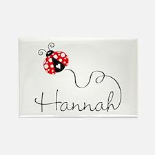 Ladybug Hannah Magnets