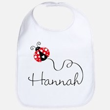 Ladybug Hannah Bib