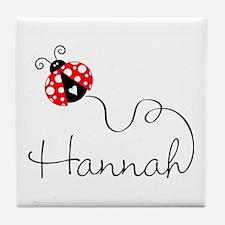 Ladybug Hannah Tile Coaster