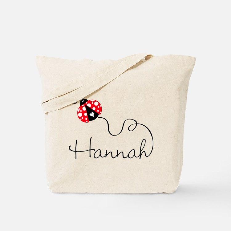 Ladybug Hannah Tote Bag