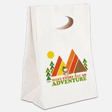 Snoopy-Make Every Day An Adventu Canvas Lunch Tote