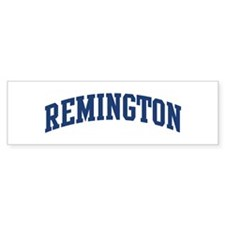 REMINGTON design (blue) Bumper Bumper Sticker