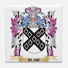 Blair Coat of Arms (Family Crest) Tile Coaster