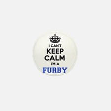 I can't keep calm Im FURBY Mini Button (10 pack)