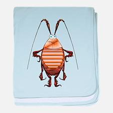 Cockroach 3D Cartoon baby blanket