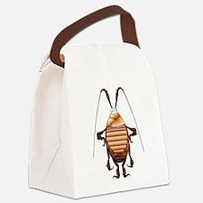 Cockroach 3D Cartoon Canvas Lunch Bag