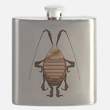 Cockroach 3D Cartoon Flask