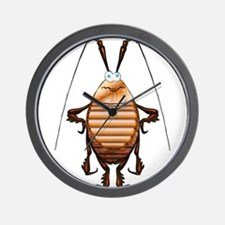 Cockroach 3D Cartoon Wall Clock
