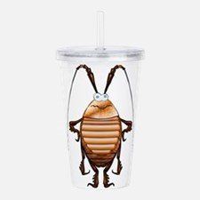 Cockroach 3D Cartoon Acrylic Double-wall Tumbler
