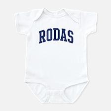 RODAS design (blue) Infant Bodysuit