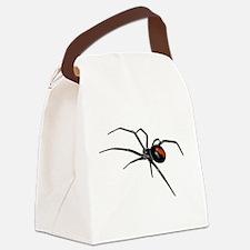 BLACK WIDOW SPIDER Canvas Lunch Bag