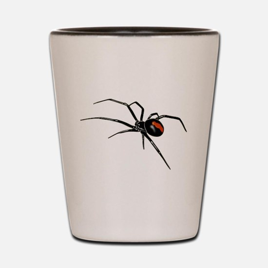 BLACK WIDOW SPIDER Shot Glass