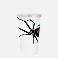 BLACK WIDOW SPIDER Acrylic Double-wall Tumbler