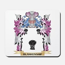 Blankenship Coat of Arms (Family Crest) Mousepad