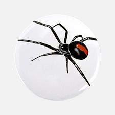 BLACK WIDOW SPIDER Button