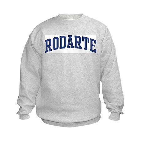 RODARTE design (blue) Kids Sweatshirt