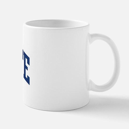 RODARTE design (blue) Mug