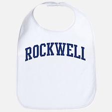 ROCKWELL design (blue) Bib