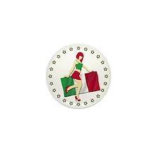 Sexy Girl Italy 2 Mini Button