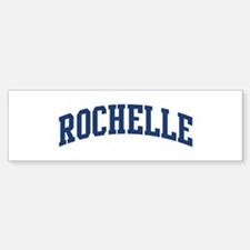 ROCHELLE design (blue) Bumper Bumper Bumper Sticker