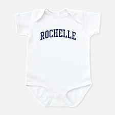 ROCHELLE design (blue) Infant Bodysuit