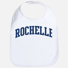 ROCHELLE design (blue) Bib