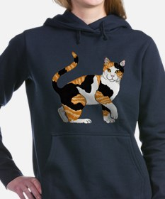 Cat Women's Hooded Sweatshirt