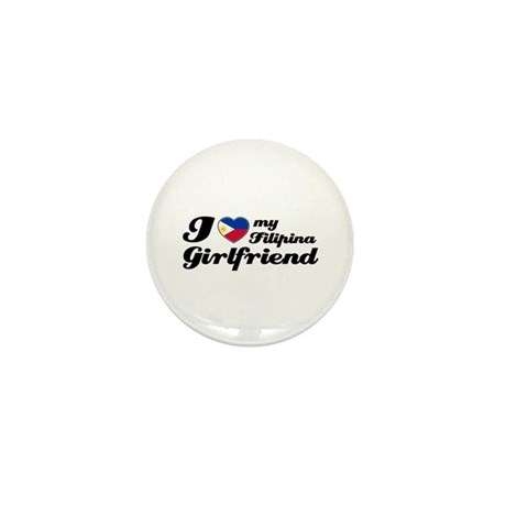 I love my Filipina girlfriend Mini Button (100 pac