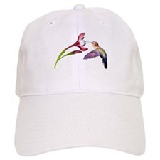 Hummingbird in flight Baseball Cap