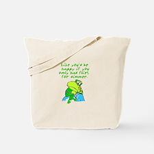 Unhappy Frog Tote Bag