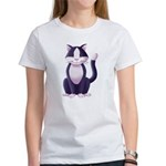 Women's T-Shirt - Featuring Dharma The Cat