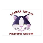 Postcards (Package of 8) Featuring Dharma The Cat