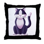 Throw Pillow - Featuring Dharma The Cat